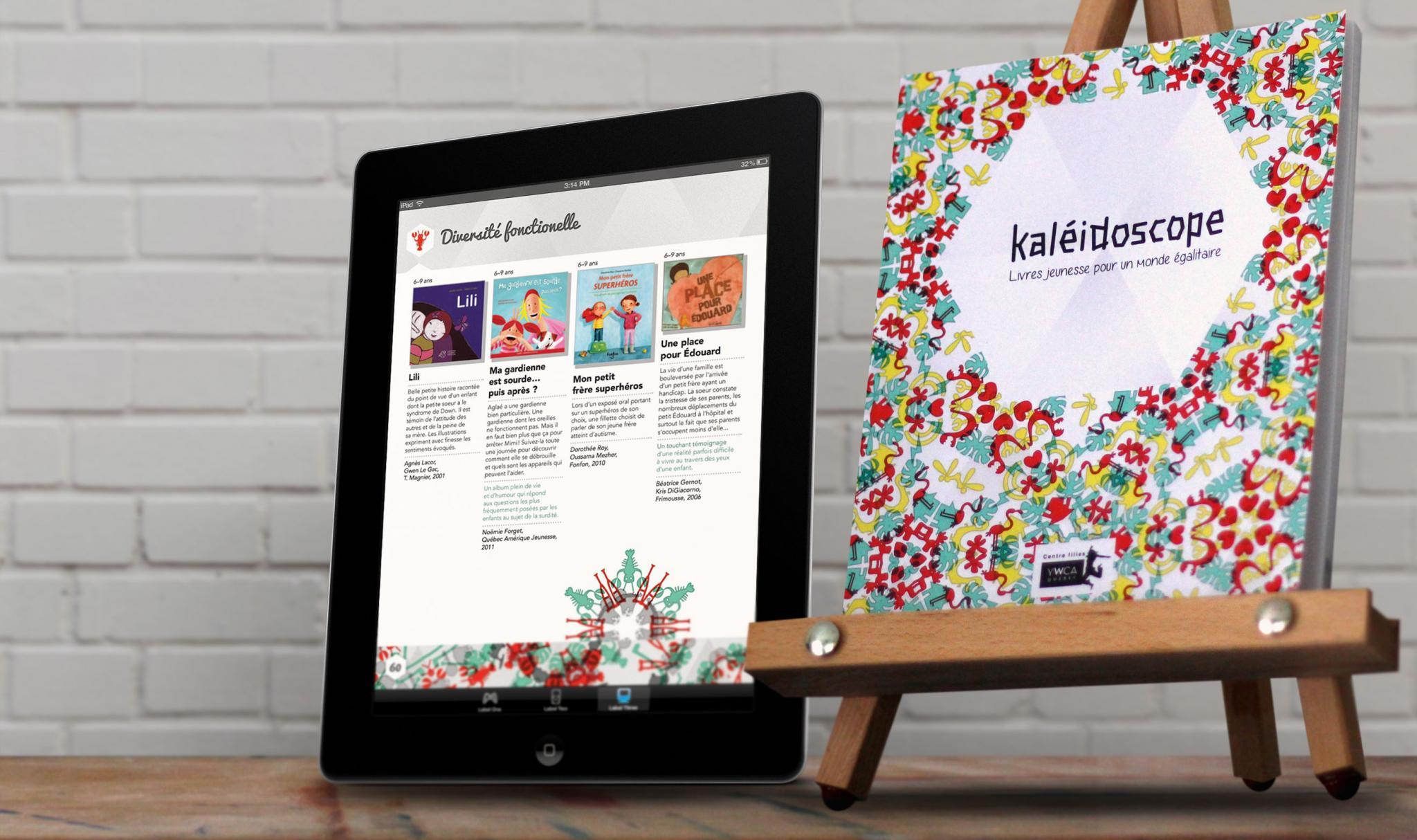 Kaléidoscope, livres jeunesse pour un monde égalitaire