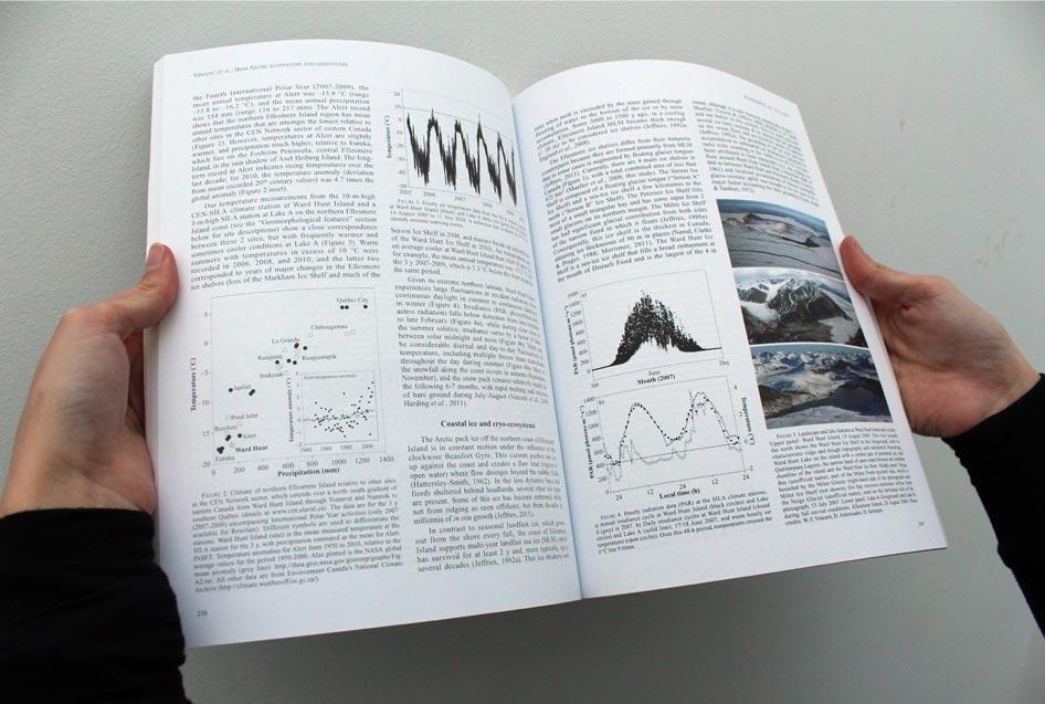 écoscience - mise en page - graphisme